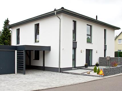 Massivhaus stadtvilla for Modernes haus klein